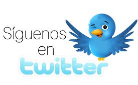 Haz Click aqui para seguirnos en Twitter